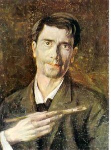 "Ştefan Luchian – ""Un zugrav"" (autoportret)"
